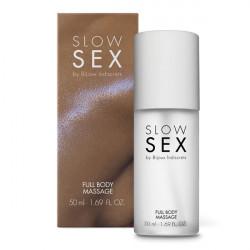 Гель для массажа всего тела  FULL BODY MASSAGE  Slow Sex by Bijoux Indiscrets (Испания)