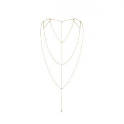 Украшение для спины и декольте Bijoux Indiscrets Magnifique Back and Cleavage Chain - Gold