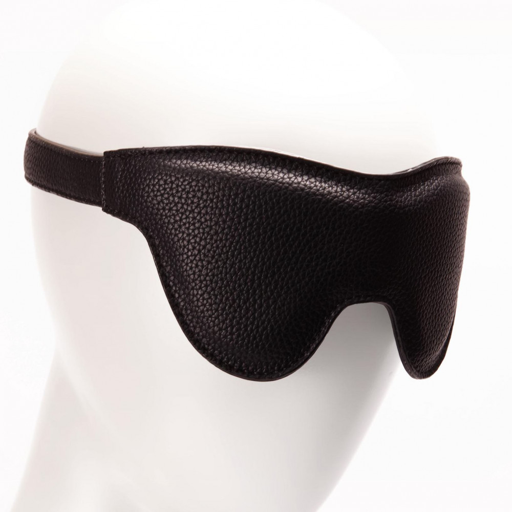Маска для БДСМ - Маска на глаза Pornhub Faux Leather Mask 3