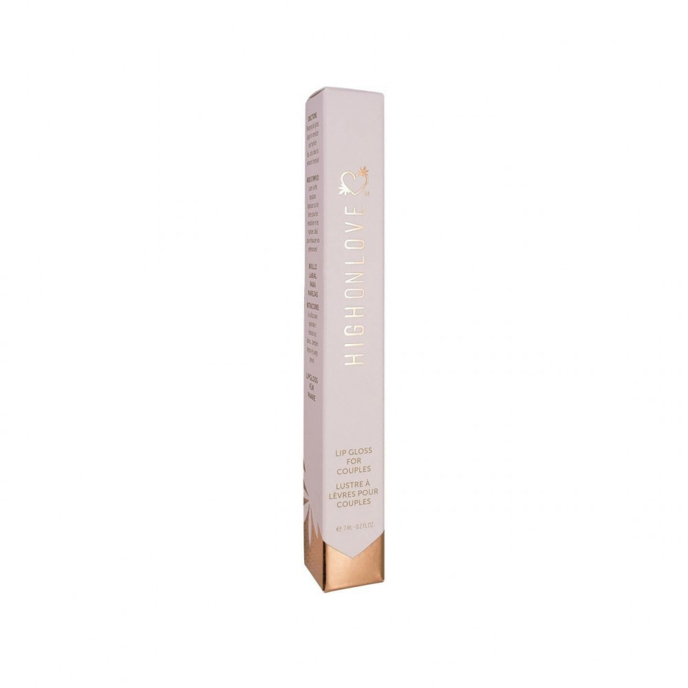 Жидкий вибратор - Блеск для губ HighOnLove - Couples Lip Gloss (120 мл) 2