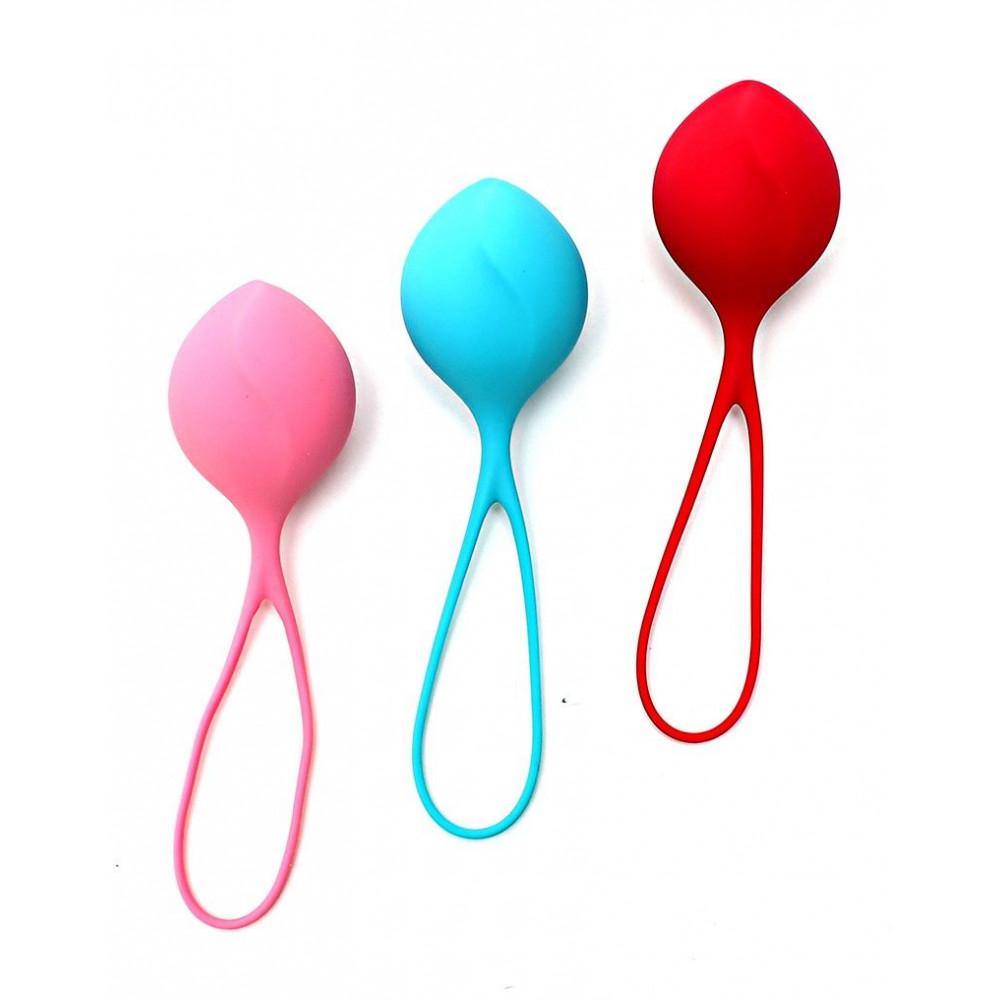 Вагинальные шарики - Вагинальные шарики Satisfyer balls C03 single (set of 3) 1