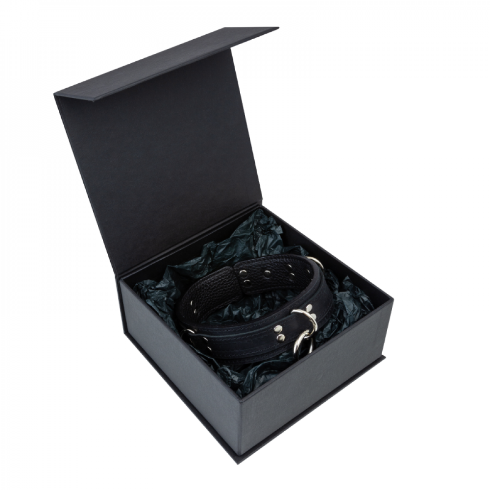 БДСМ ошейники - Ошейник LOVECRAFT размер M черный 2