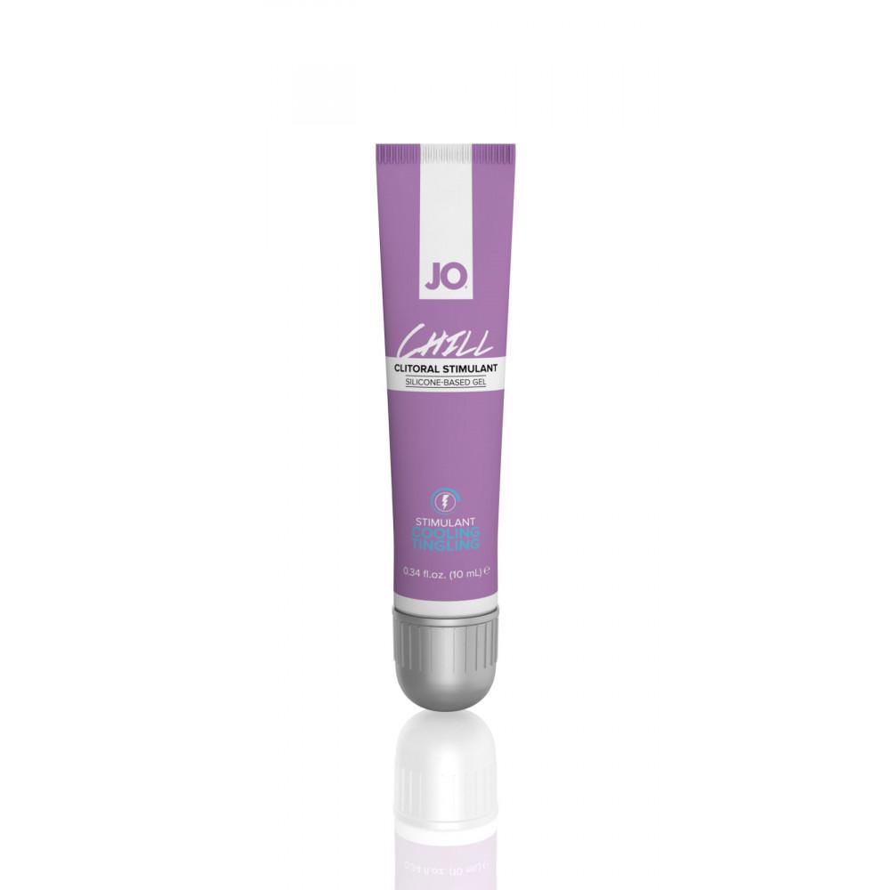 Жидкий вибратор - Стимулирующий гель для клитора System JO CHILL COOLING (10 мл)