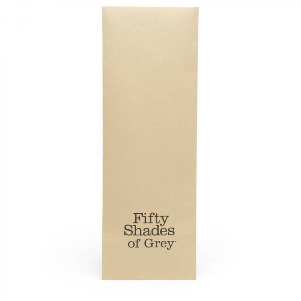 БДСМ наручники - Поножи из эко-кожи Коллекция: Bound to You Fifty Shades of Grey (Великобритания)  3