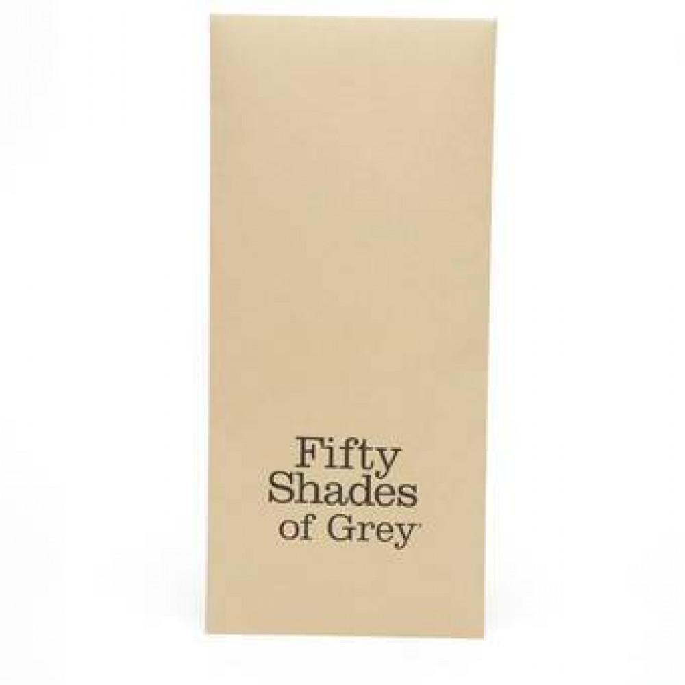 БДСМ плети, шлепалки, метелочки - Флоггер из эко-кожи Коллекция: Bound to You Fifty Shades of Grey (Великобритания)  3