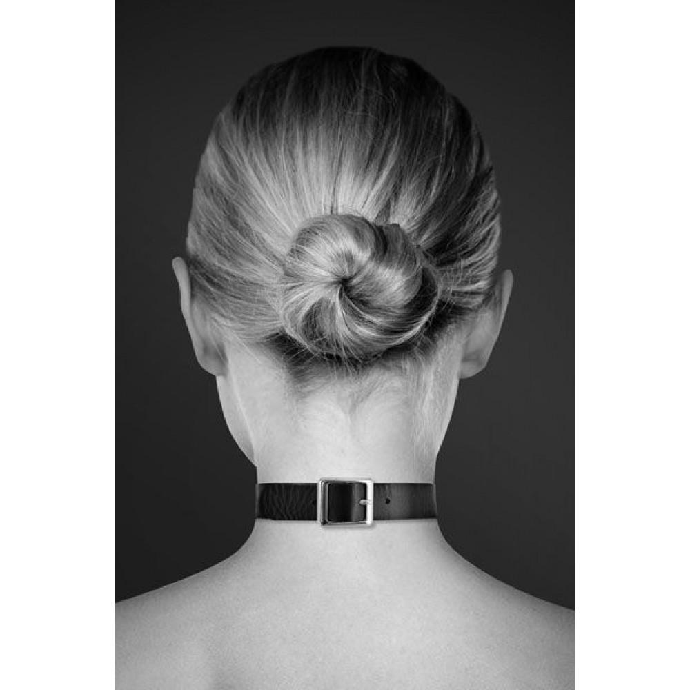 Чокер - Чокер Bijoux Pour Toi - FETISH Black 1