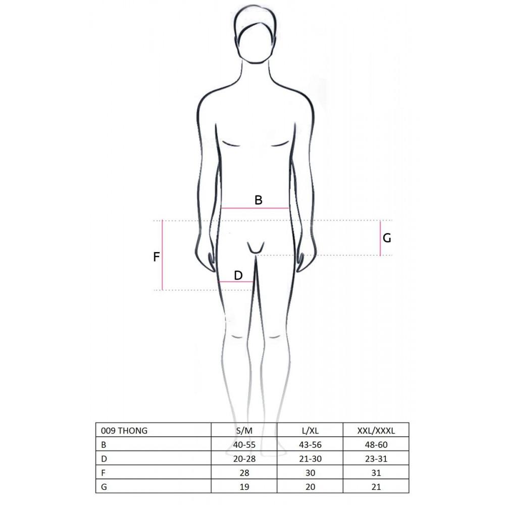 Стринги, трусы и шорты - 009 THONG violet S/M - Passion 2