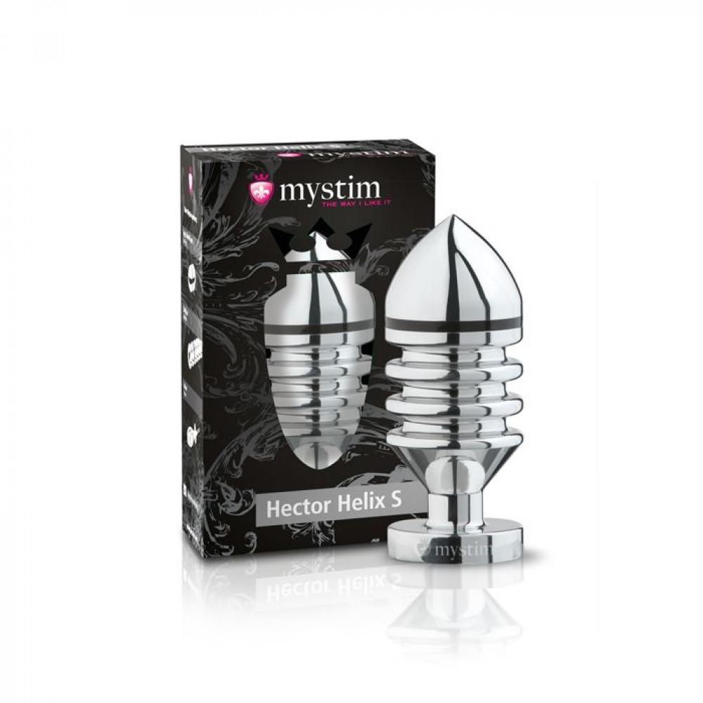 БДСМ электростимуляторы - Анальная пробка Mystim Hector Helix Buttplug S 3