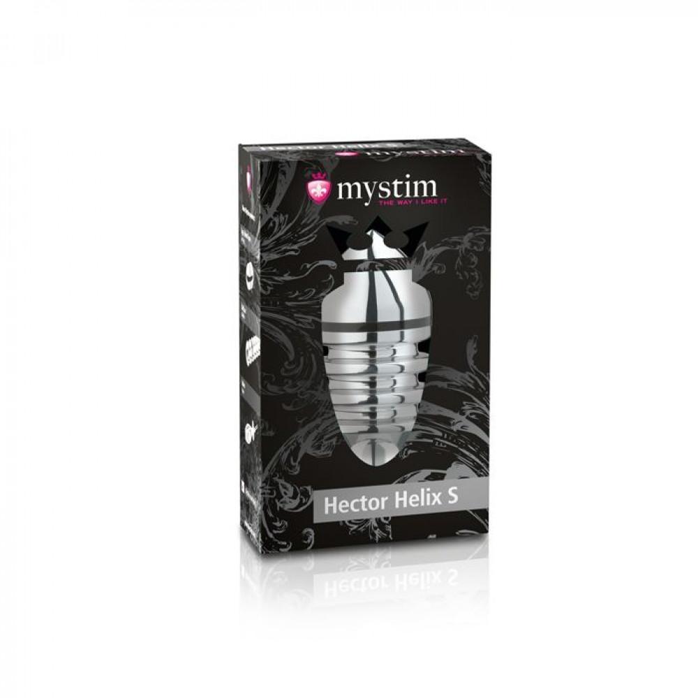 БДСМ электростимуляторы - Анальная пробка Mystim Hector Helix Buttplug S 2