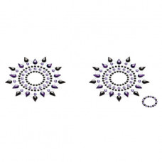 Пэстис Petits Joujoux Gloria set of 2 - Black/Purple