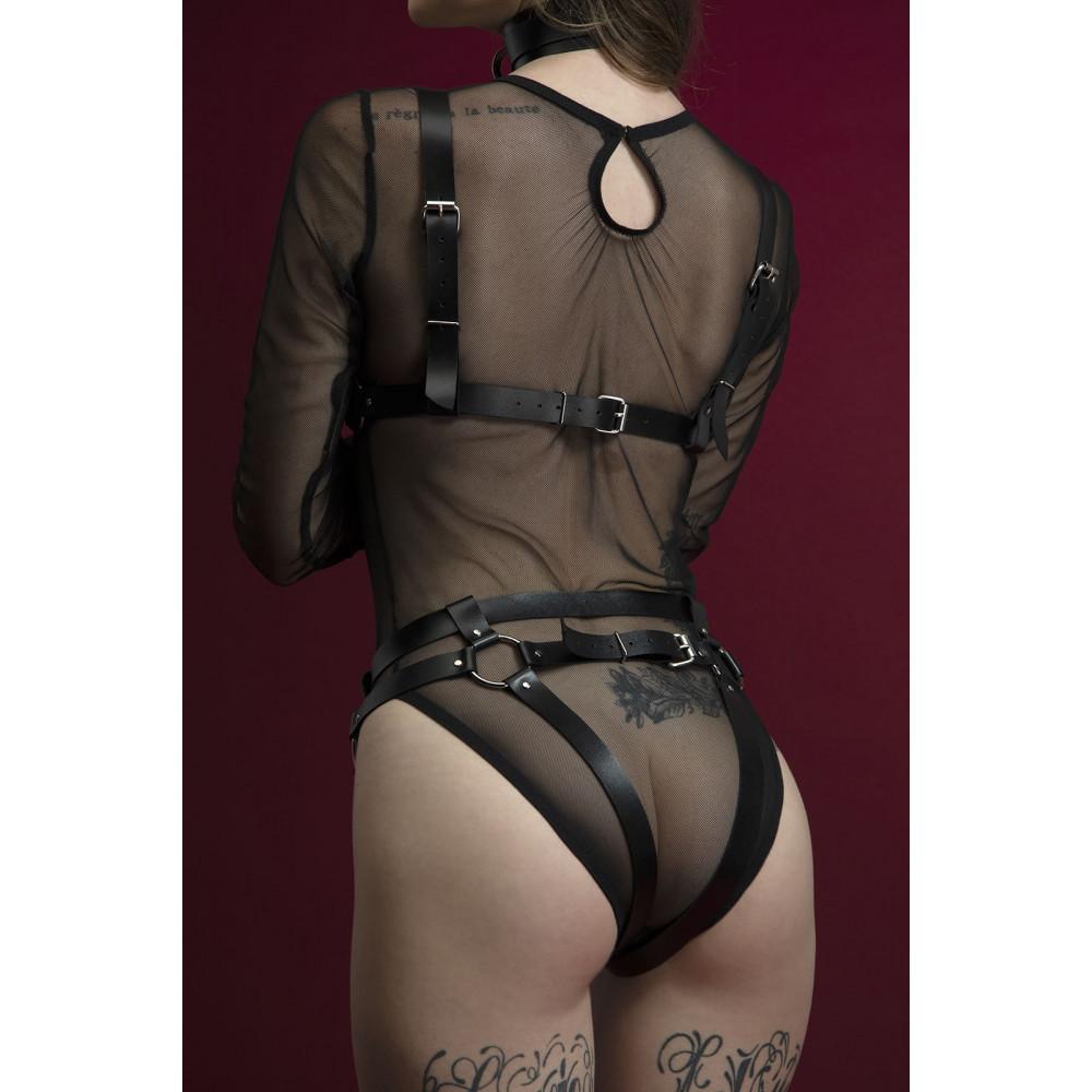 Одежда для БДСМ - Гартеры Feral Fillings - Belt Briefs черные 1