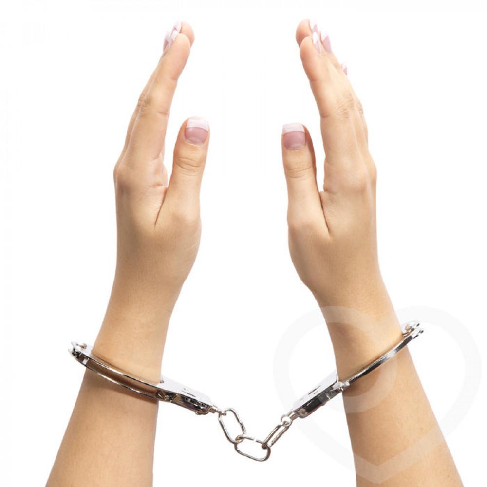 БДСМ наручники - Металлические наручники для секса ТЫ. МОЯ., Fifty Shades of Grey 2