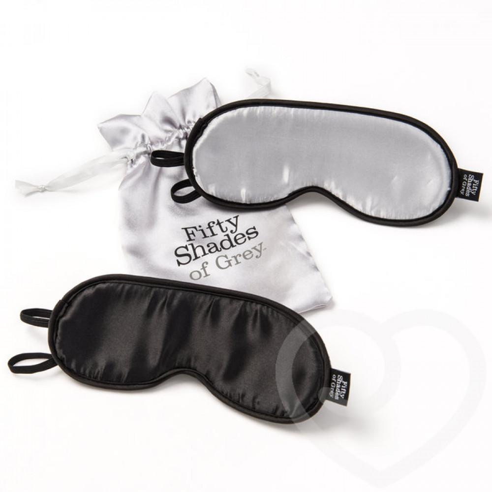 Маска для БДСМ - Повязки на глаза, набор НЕ ПОДГЛЯДЫВАЙ!, Fifty Shades of Grey 3