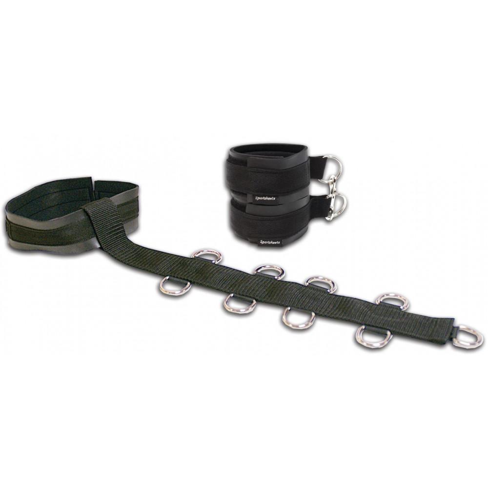БДСМ наручники - Ошейник с наручниками Sportsheets Neck & Wrist Restraint