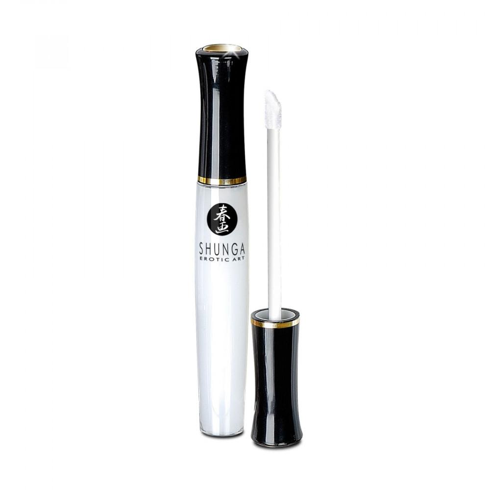 Оральные смазки - Блеск для губ Shunga LIPGLOSS - Coconut Water (10 мл) 1