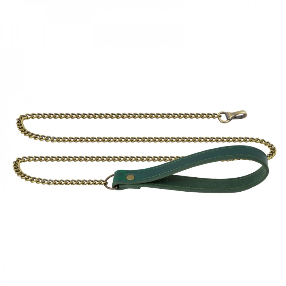БДСМ ошейники - Поводок LOVECRAFT зеленый