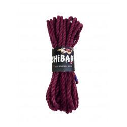 Джутовая веревка для Шибари Feral Feelings Shibari Rope, 8 м фиолетовая