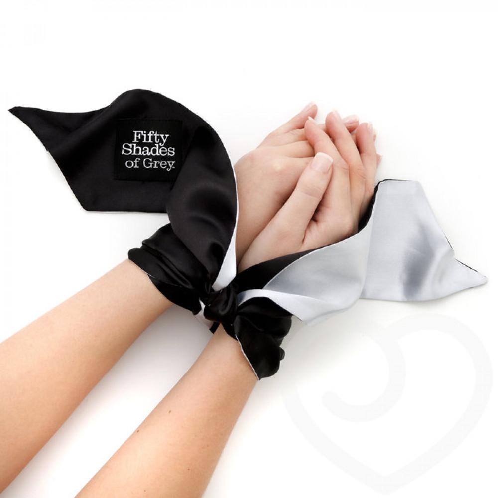 БДСМ наручники - Лента для связывания запястий МЯГКИЕ ОГРАНИЧЕНИЯ, Fifty Shades of Grey 2