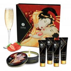 Подарочный набор Shunga GEISHAS SECRETS - Sparkling Strawberry Wine