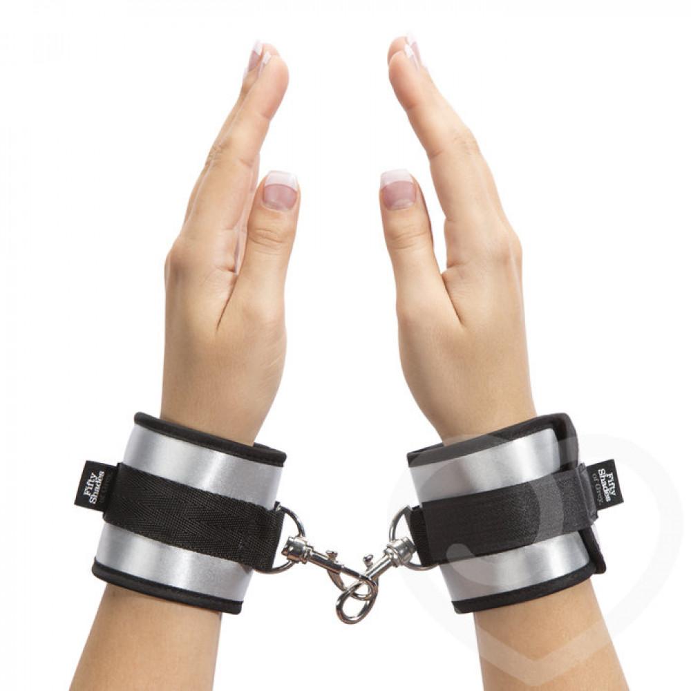 БДСМ наручники - Мягкие наручники (манжеты) ВСЯ ЕГО Fifty Shades of Grey 4