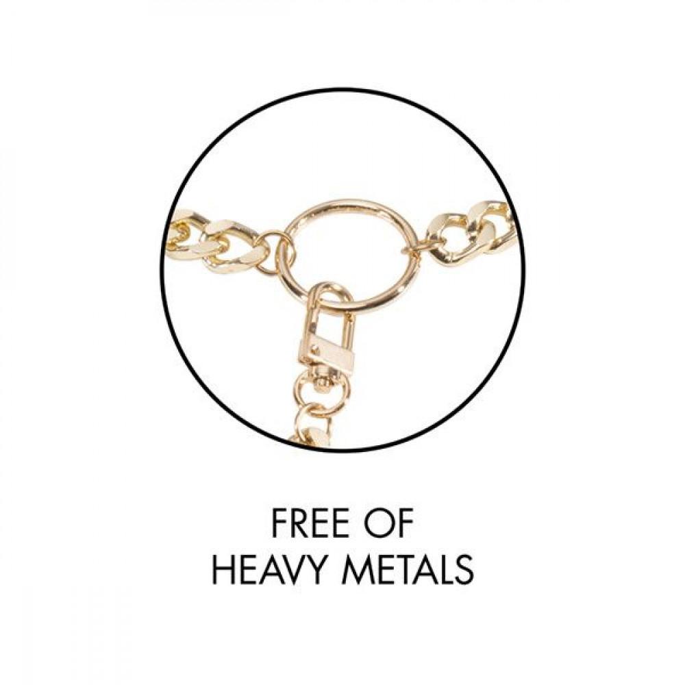 БДСМ наручники - Наручники Bijoux Indiscrets MAZE - Wide Cuffs Brown 5
