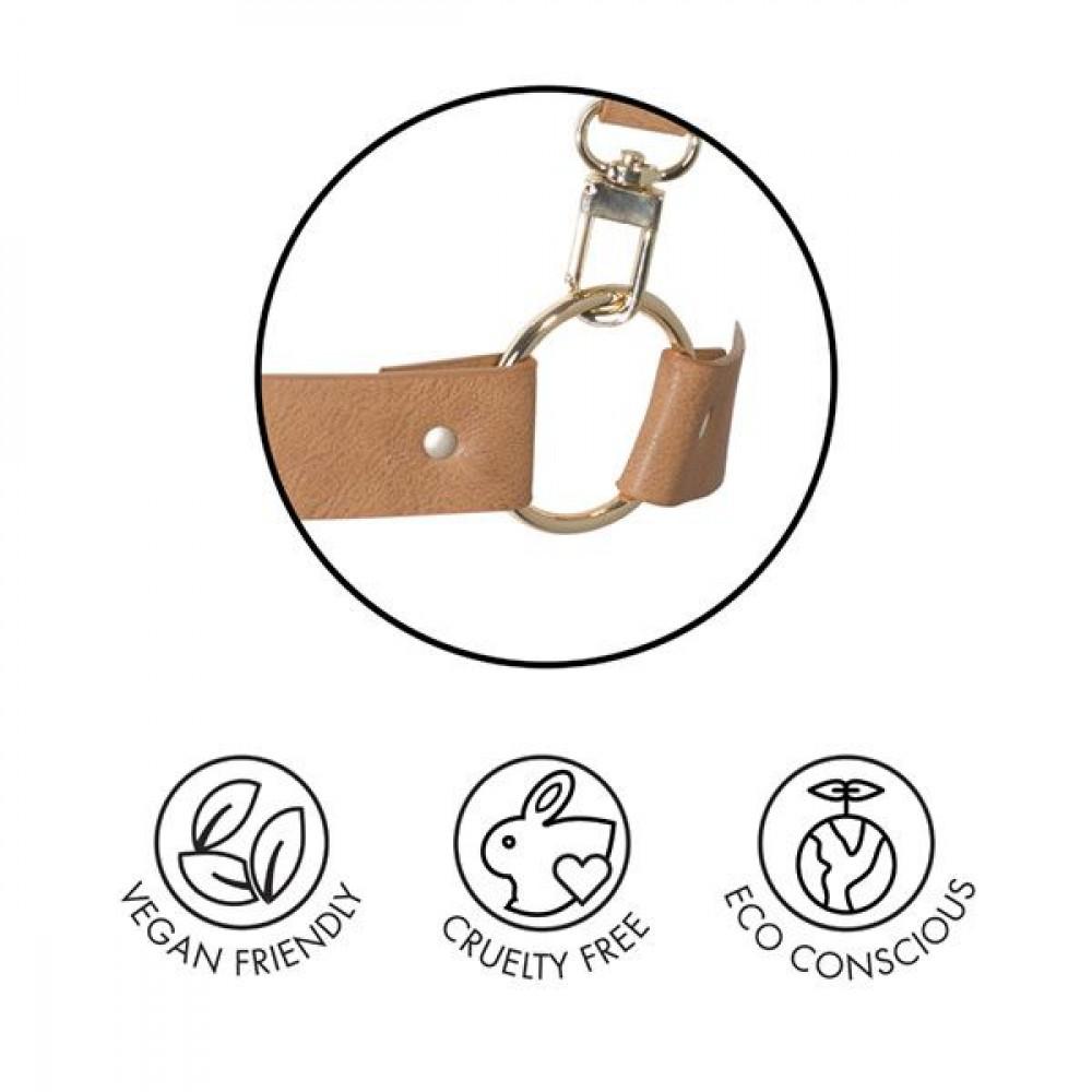 БДСМ наручники - Наручники Bijoux Indiscrets MAZE - Wide Cuffs Brown 4