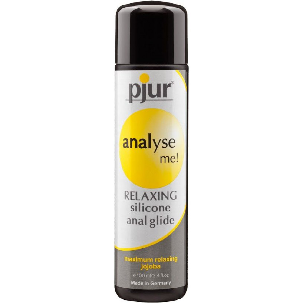 Анальные смазки и смазки для фистинга - Анальная смазка pjur analyse me! Relaxing jojoba silicone lubricant 100 мл