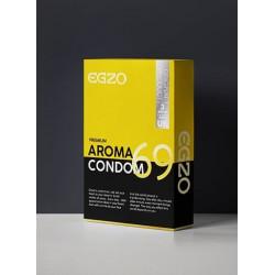 Ароматизированные презервативы EGZO Aroma (упаковка 3 шт)