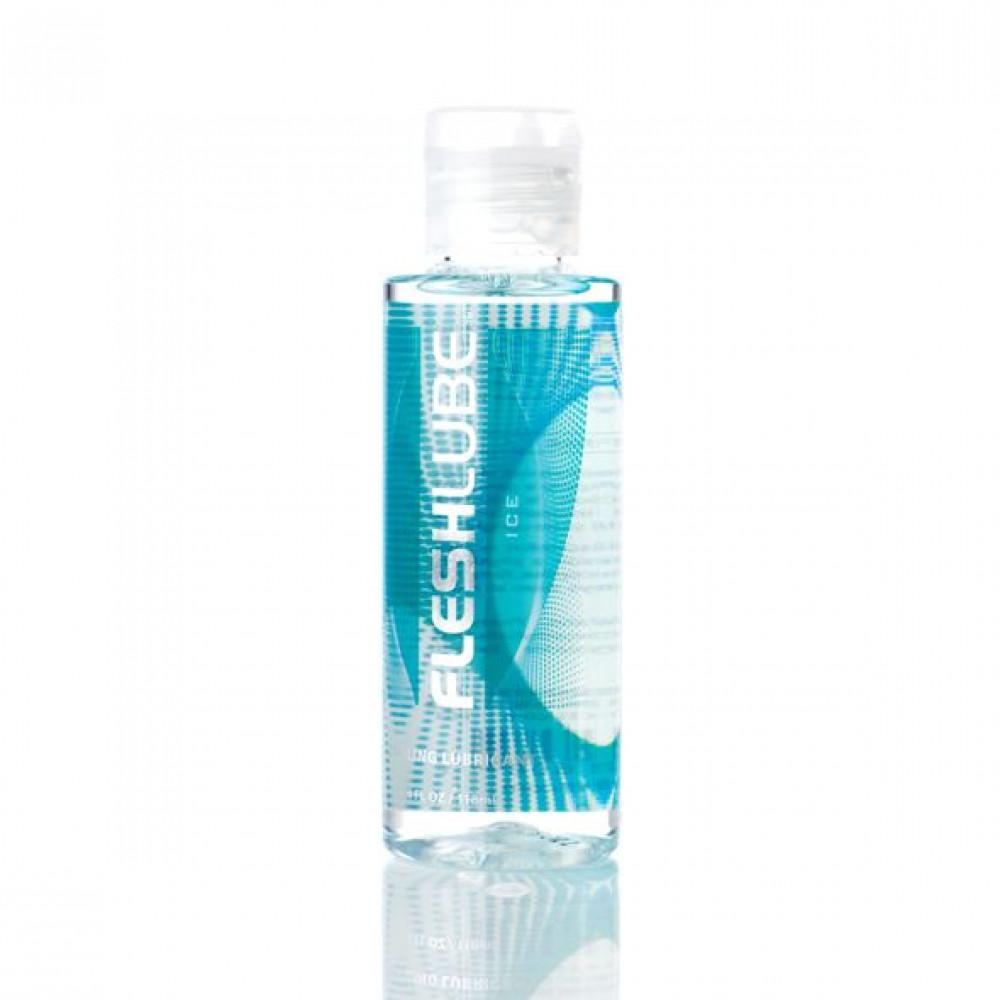 Смазка на водной основе - Лубрикант Fleshlube Ice (Лед) 100 мл