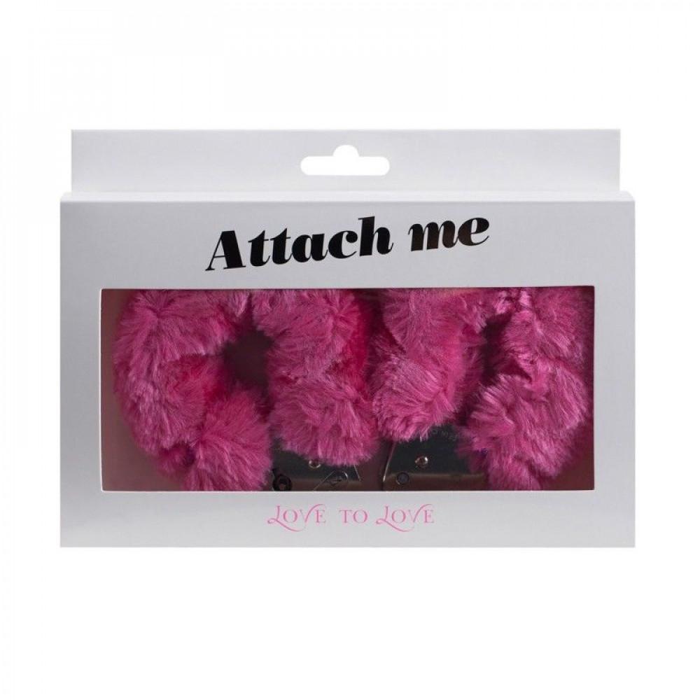 БДСМ наручники - Наручники Love To Love ATTACH ME Pink 1