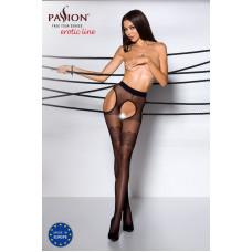 Эротические колготки TIOPEN 002 nero 1/2 (20 den) - Passion