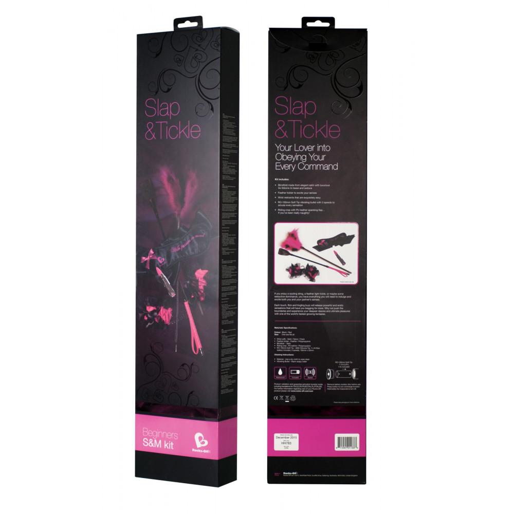 Наборы для БДСМ - Набор Rocks Off S&T Kit Pink 1