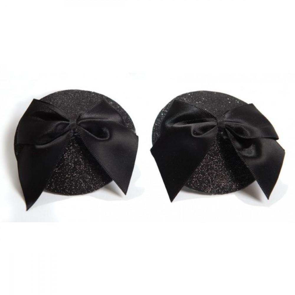 Интимные украшения - Пэстисы с бантиками BURLESQUE Bijoux Indiscrets
