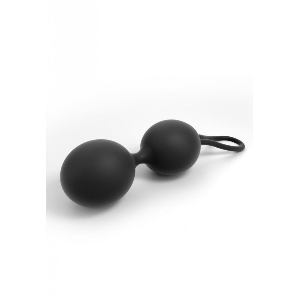 Вагинальные шарики - Вагинальные шарики Dorcel Dual Balls Black 1
