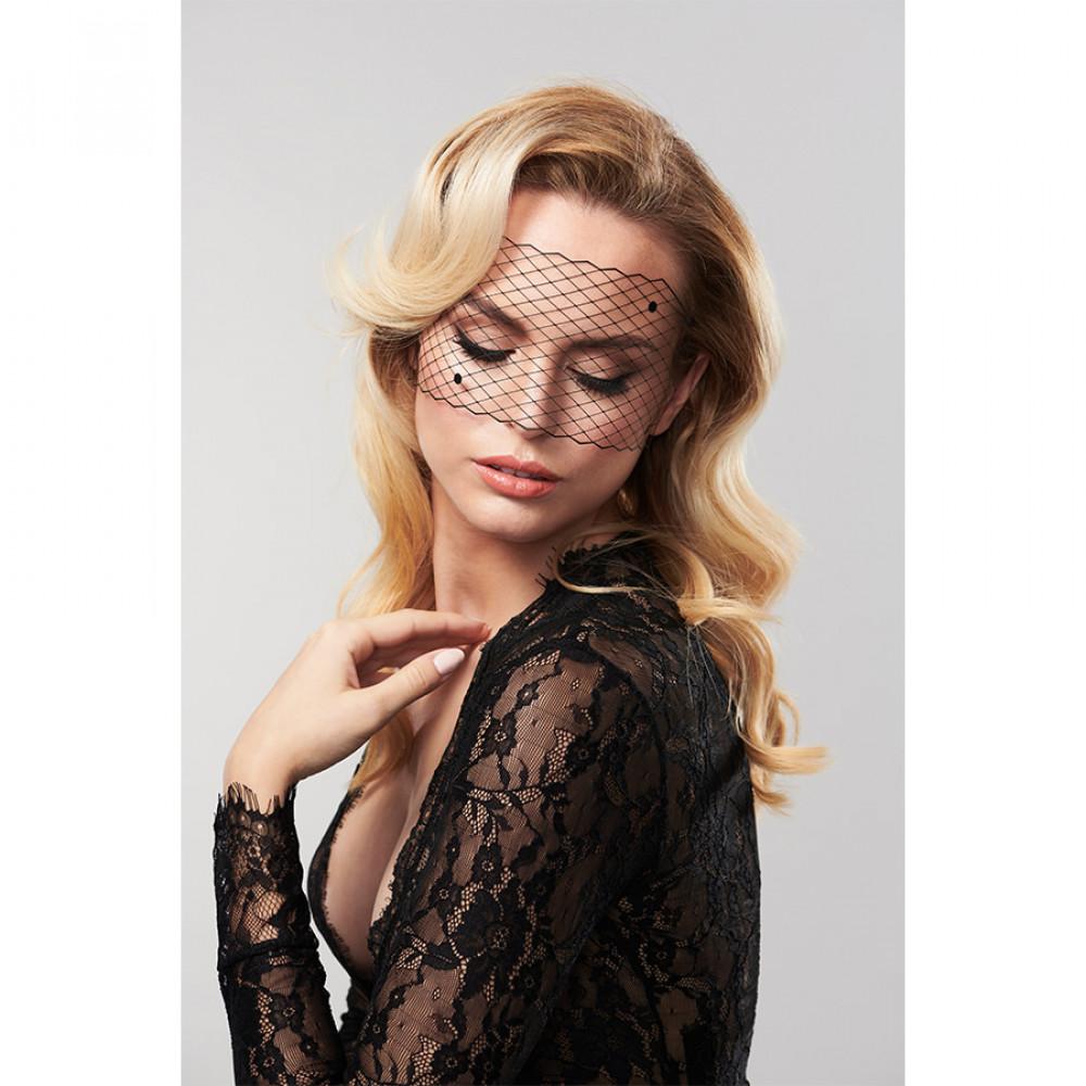 Аксессуары для эротического образа - Виниловая маска на стикерах