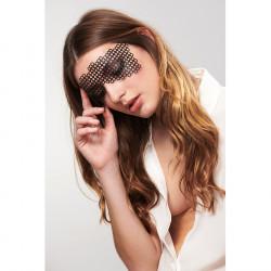 """Виниловая маска на стикерах """"ЭРИКА"""". Bijoux Indiscrets (Испания)"""