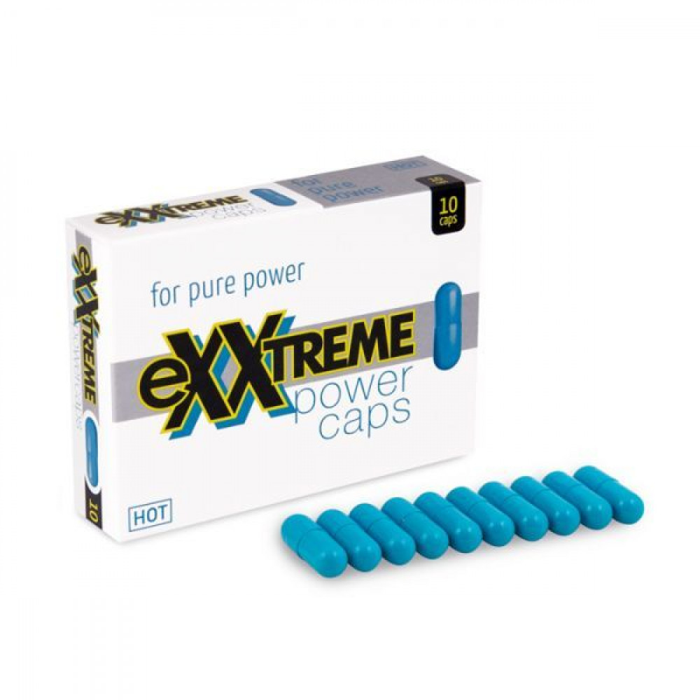 Стимулирующие средства и пролонгаторы - Капсулы для потенции eXXtreme, 10 шт в упаковке