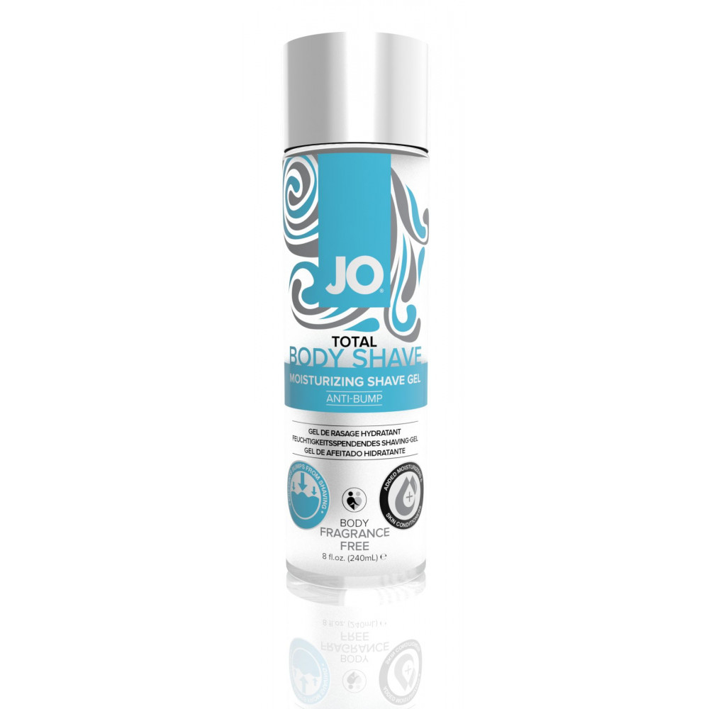 Интимная косметика - Гель для бритья System JO TOTAL BODY - ANTI-BUMP INTIMATE SHAVING GEL (240 мл)