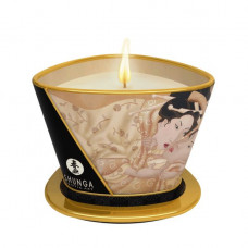 Массажная свеча Shunga MASSAGE CANDLE - Vanilla Fetish (170 мл)