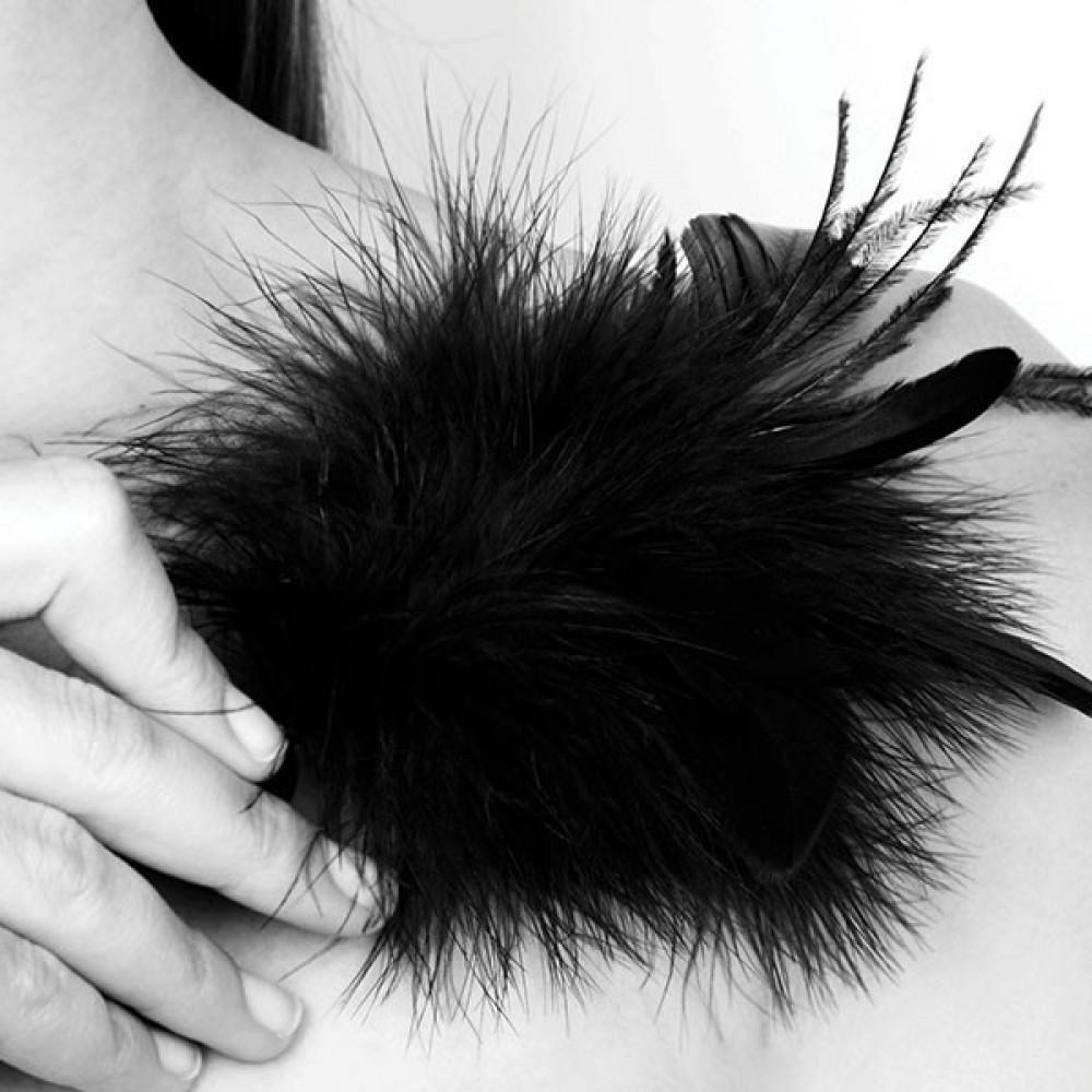 БДСМ плети, шлепалки, метелочки - Метёлочка из перьев Pom Pom Bijoux Indiscrets 4