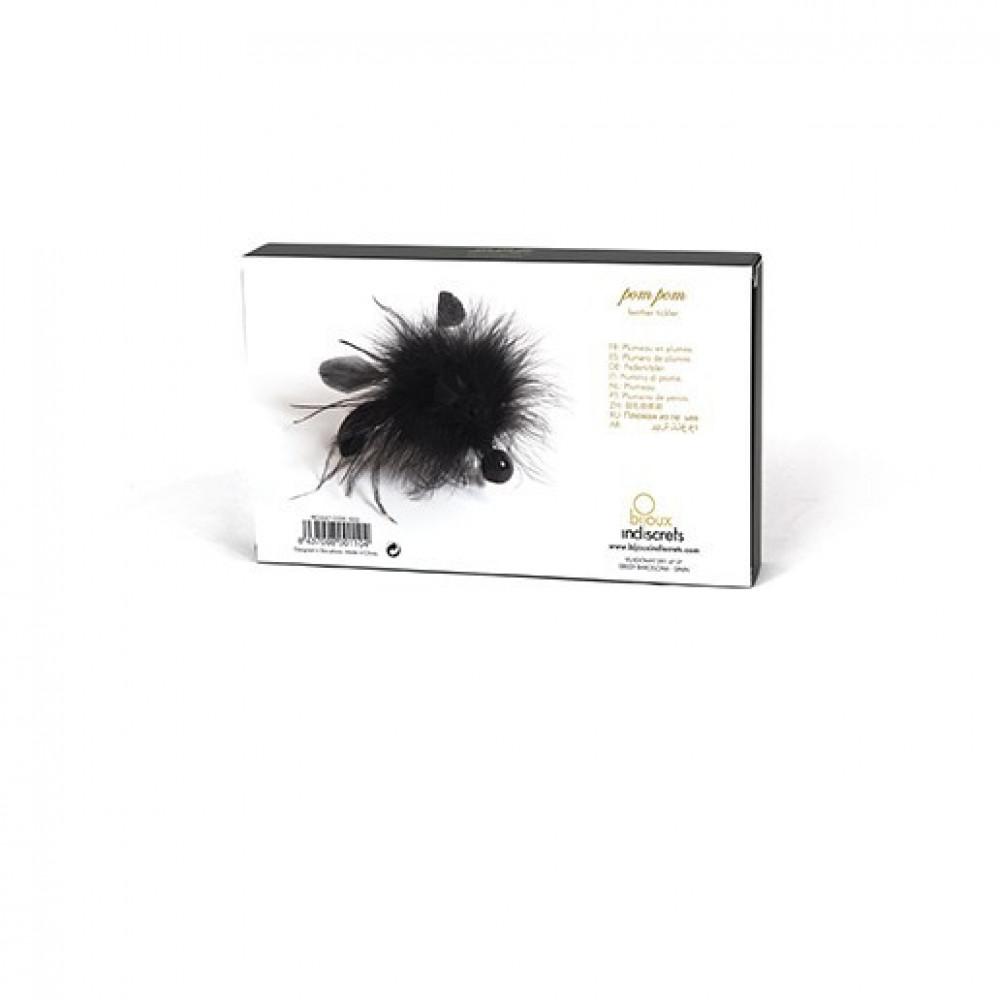 БДСМ плети, шлепалки, метелочки - Метёлочка из перьев Pom Pom Bijoux Indiscrets 2