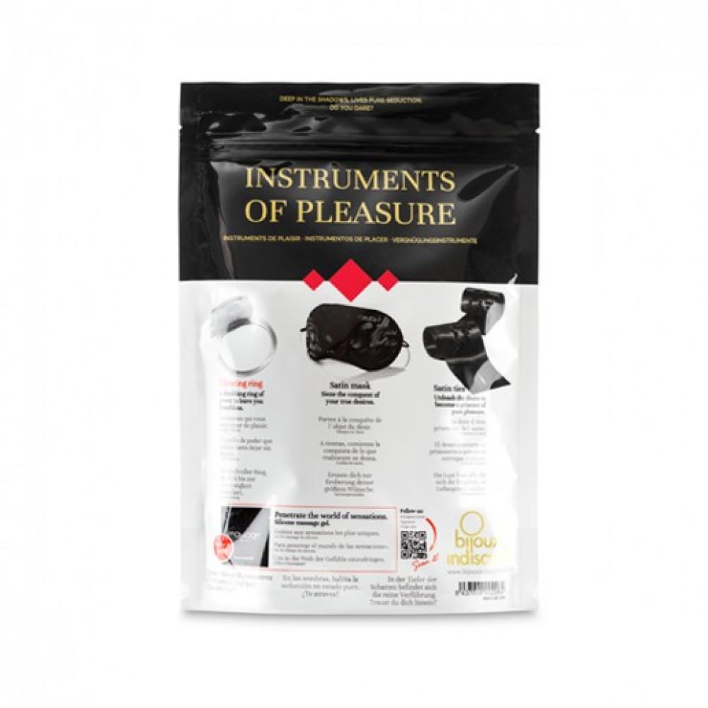 БДСМ наручники - Набор аксессуаров Instruments of Pleasure. Уровень КРАСНЫЙ. Bijoux Indiscrets (Испания) 6