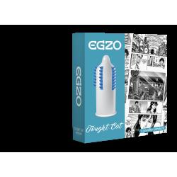 Насадка на член EGZO Touqht Cat (презерватив с шипами)
