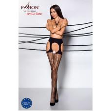 Эротические колготки TIOPEN 004 nero 3/4 (fishnet 40 den) - Passion