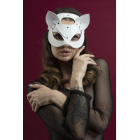 Маска кошки Feral Fillings - Catwoman Mask белая