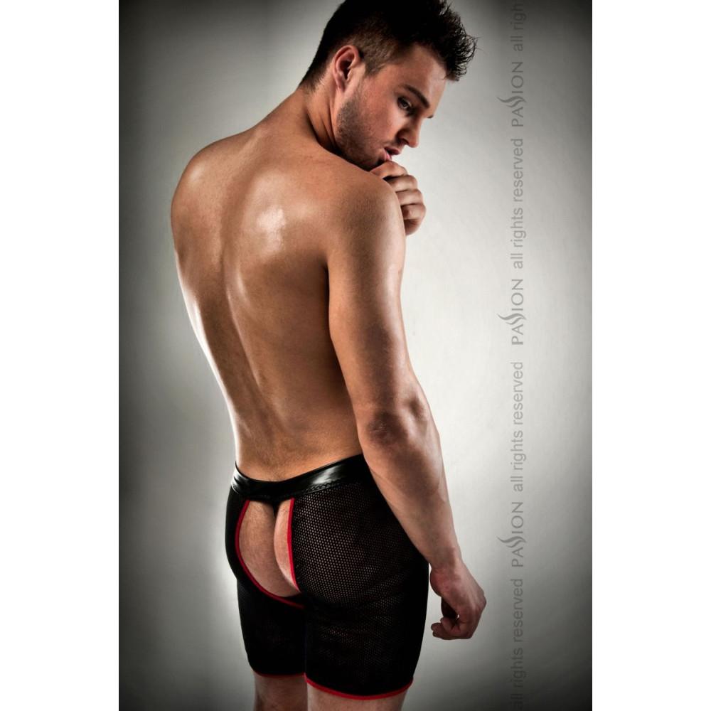 Стринги, трусы и шорты - 012 THONG black S/M - Passion 1