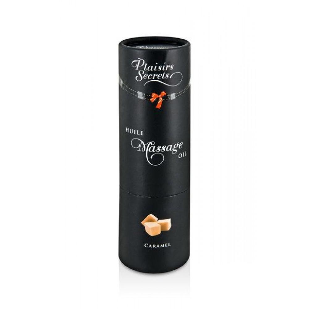 Массажные масла - Массажное масло Plaisirs Secrets Caramel (59 мл) 2