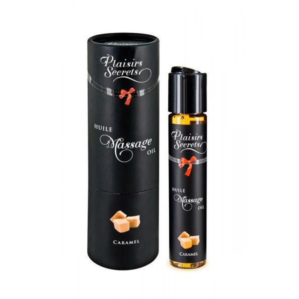 Массажные масла - Массажное масло Plaisirs Secrets Caramel (59 мл)