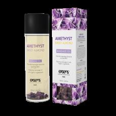 Массажное масло EXSENS Amethyst Sweet Almond (расслабляющее с аметистом) 100мл