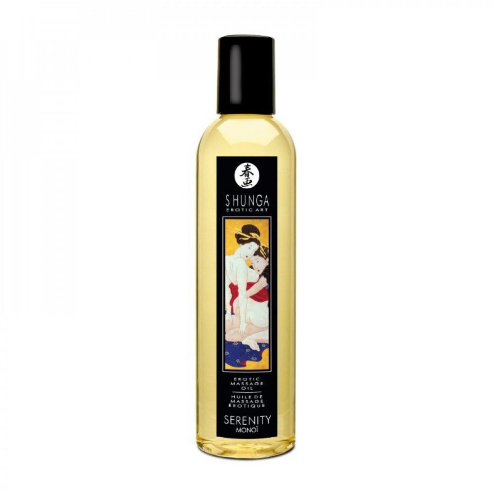 Массажные масла - Массажное масло Shunga - Monoi